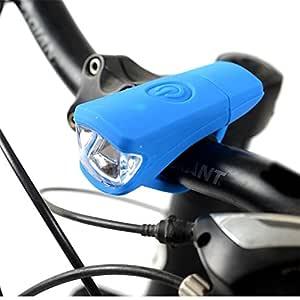 Aili ebhaus USB recargables LED Faro Luz silicona Bike Bicicleta ...