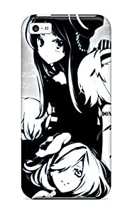 EcdCiSc2524NOPru Case Cover Protector For Iphone 5c Black And White Kon K-on! Anime Other Case