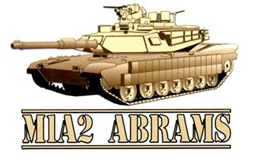 M1A2 Abrams Decal Sticker (Crest Sticker)