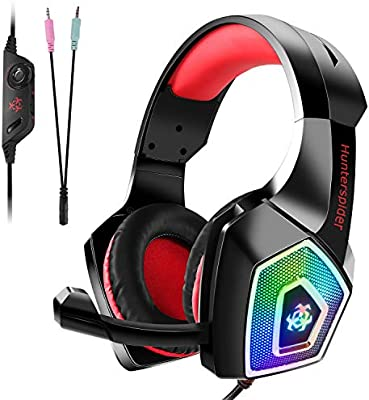 Auriculares Gaming Premium para PS4, PC, Xbox One, Cascos Gaming ...