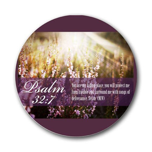 Psalm 32:7 Bible Verse Large Mousepad Mouse Pad Great Gift Idea by MYDply