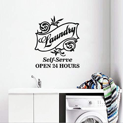 Nuevo diseño de la Sala de lavandería Etiqueta de la Pared ...