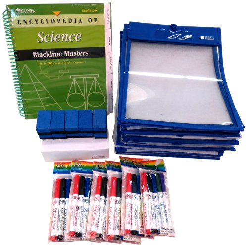 ETA hand2mind, ClearVu Paper Saver Kit and The Encyclopedia of Science Blackline Masters Book, (5567493)
