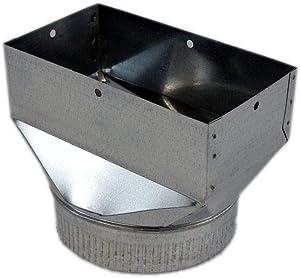 5304485473 Cooktop Downdraft Blower Exhaust Transition Genuine Original Equipment Manufacturer (OEM) Part