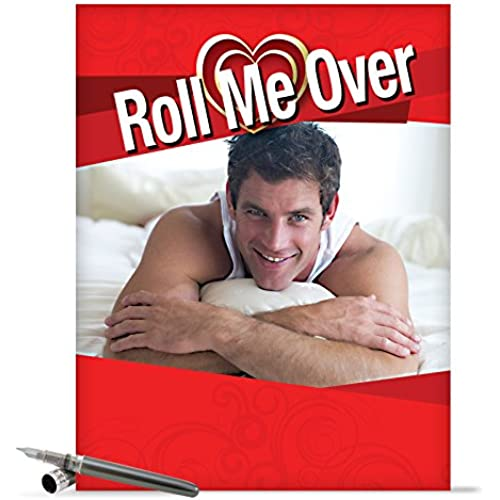 J2140 Jumbo Funny Valentine's Day Card: Roll Me Over With Envelope (Extra Large Version: 8.5 x 11) Sales