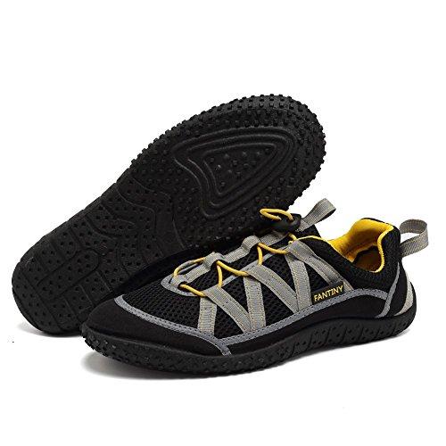 Cior Mannen En Vrouwen Aquaschoenen Sneldrogend Water Sportschoenen Voor Strand Zwembad Varen Zwemmen Surf Ye.black