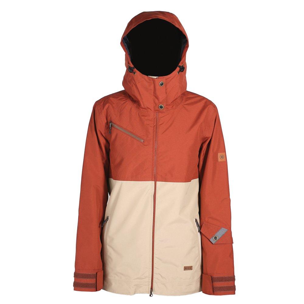 Rust Khaki Ride Snowboard Outerwear Cherry Jacket