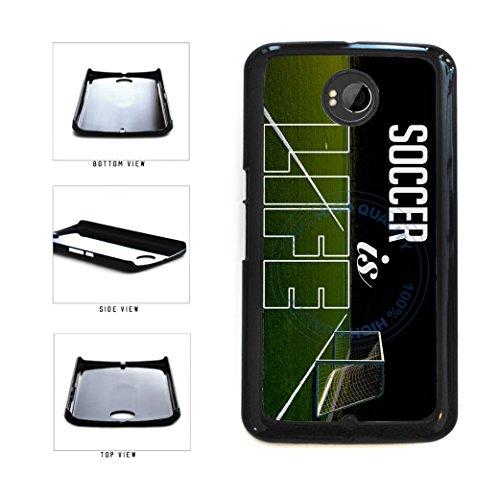 BleuReign(TM) Soccer Is Life Plastic Phone Case Back Cover For Google Nexus 6