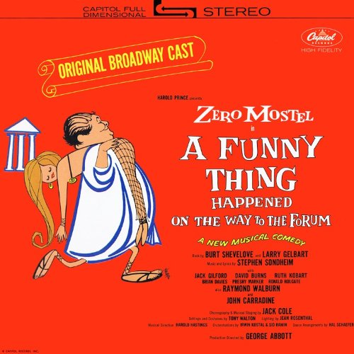 A Side-splitting Thing Happened on the Way to the Forum: Original 1962 Broadway Cast (1967 Capitol Reissue) [Vinyl LP] [Stereo]