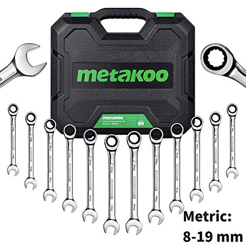 Metric Ratchet Wrench Set - 2
