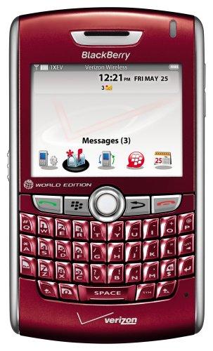 amazon com blackberry 8830 phone red verizon wireless cell rh amazon com Verizon BlackBerry 9930 3G Sim Card Verizon BlackBerry 9930 3G Sim Card