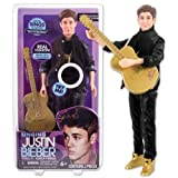 Justin Bieber Singing 'Boyfriend' 30cm Doll and Guitar (Black Outfit), Baby & Kids Zone