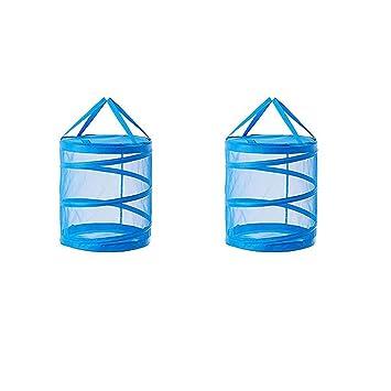 Ikea Fyllen Pliable En Maille Filet Panier à Linge Bleu