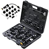 Go2buy 18PCS Radiator Pressure Tester and Vacuum Type Cooling System Kit Car Truck Auto