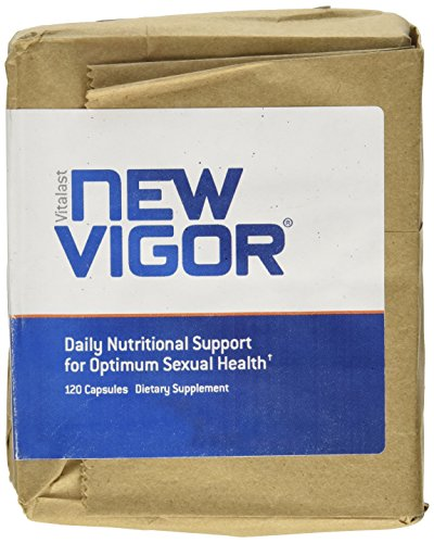 NewVigor® Daily Nutritional Support for Optimum Sexual Health, 120 Capsules by VITALAST