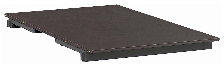 Einlegeplatte 60 cm für Kettler Ausziehtisch 0301823-7510 in anthrazit