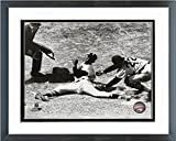 "Minnie Minoso Chicago White Sox 1953 MLB Action Photo (Size: 12.5"" X 15.5"") Framed"