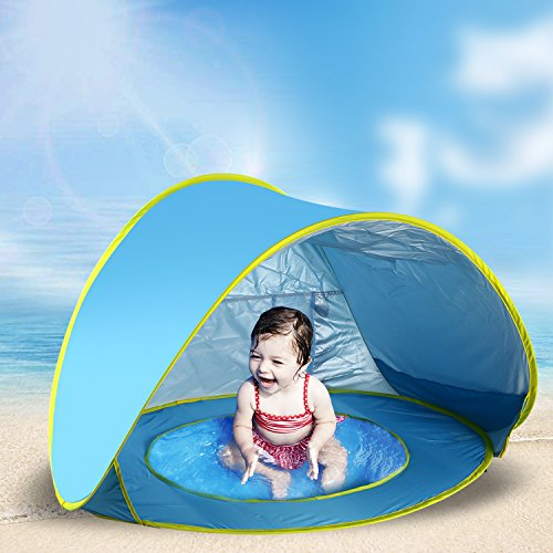 Jasonwell Baby Beach ...  sc 1 st  Holitoy for Kids & Jasonwell Baby Beach Tent Toy Portable Pop Up Sun Shade Kiddie ...