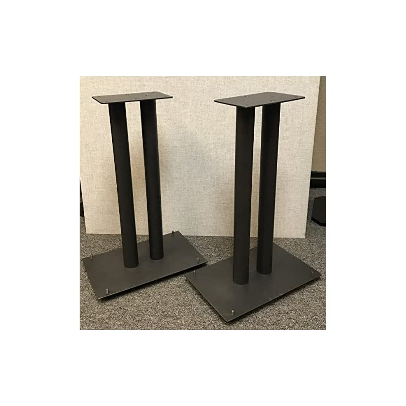 """Steel Fill-Able 24"""" Speaker Stands for M"""