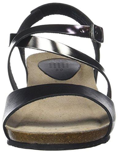 Femme noir Sandales Bout Stefany Noir Bronze Ouvert Tbs w1IqHY41