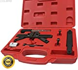 COLIBROX--Flywheel Holder Tool Kit for BMW N51 52 54 M57 M57TU Mini Cooper W17. Kit includes everything you need for locking camshaft in TDC position when checking/adjusting.