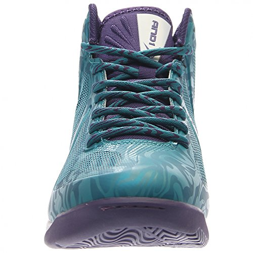 And1 Mens Xcelerate Basketbalschoen Groenblauw / Paars