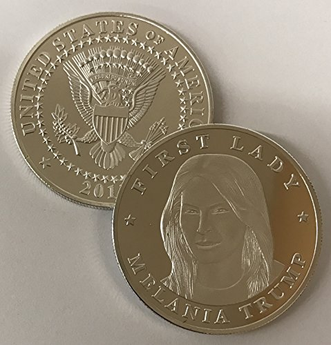 - First Lady Melania Trump Commemorative Novelty Coin - Donald Trump Coin Collection 2017