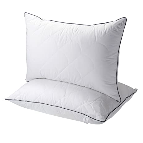 Pillows For Sleeping Registered With FDA Down Alternative Bed Pillow 2 Pack Super Soft
