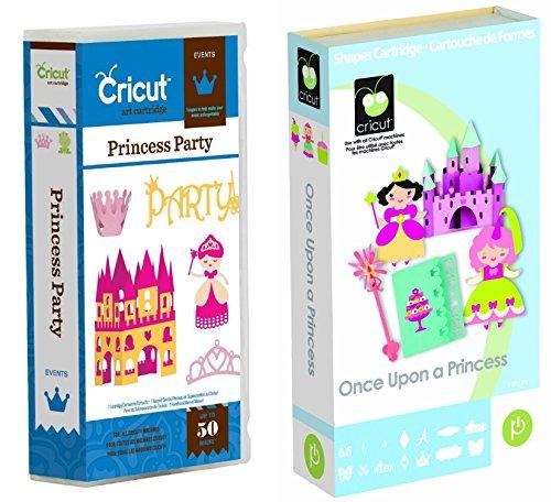 Event Bundle (Cricut Once Upon a Princess & Princess Party Events Cartridge Bundle)