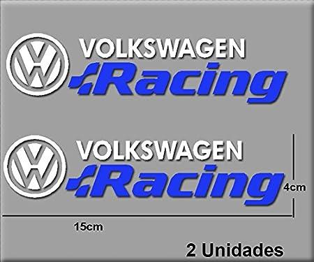 Pegatinas Volkswagen Racing R196 Vinilo ADESIVI Decal AUFKLEBER КЛЕЙ Stickers Car Voiture Sport Racing