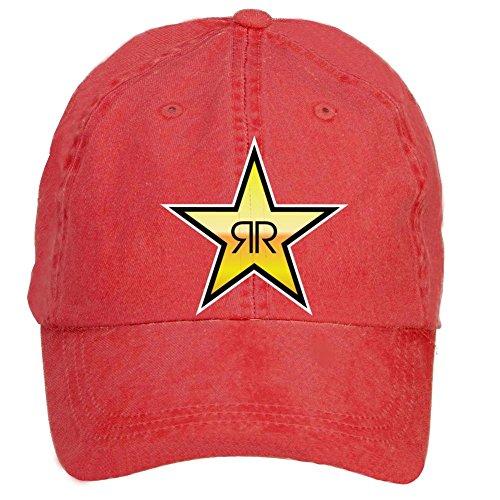 VEBLEN Unisex Rockstar Energy Drink Adjustable Baseball - Monster Energy Drink Hat