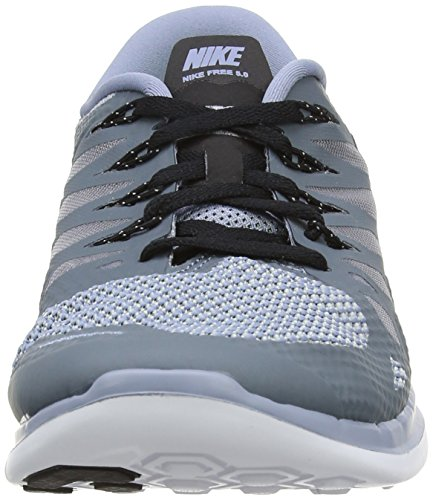 NIKE Men's 5 Wolf Cool Blue Blue Shoes 0 Free Running Grey Black aqa1wRrp