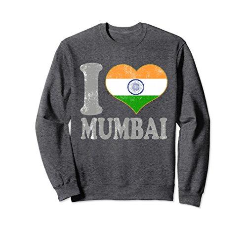 1e7662ac82 Unisex Mumbai India Sweatshirt Clothing Indian Pride Diwali Top Large Dark  Heather