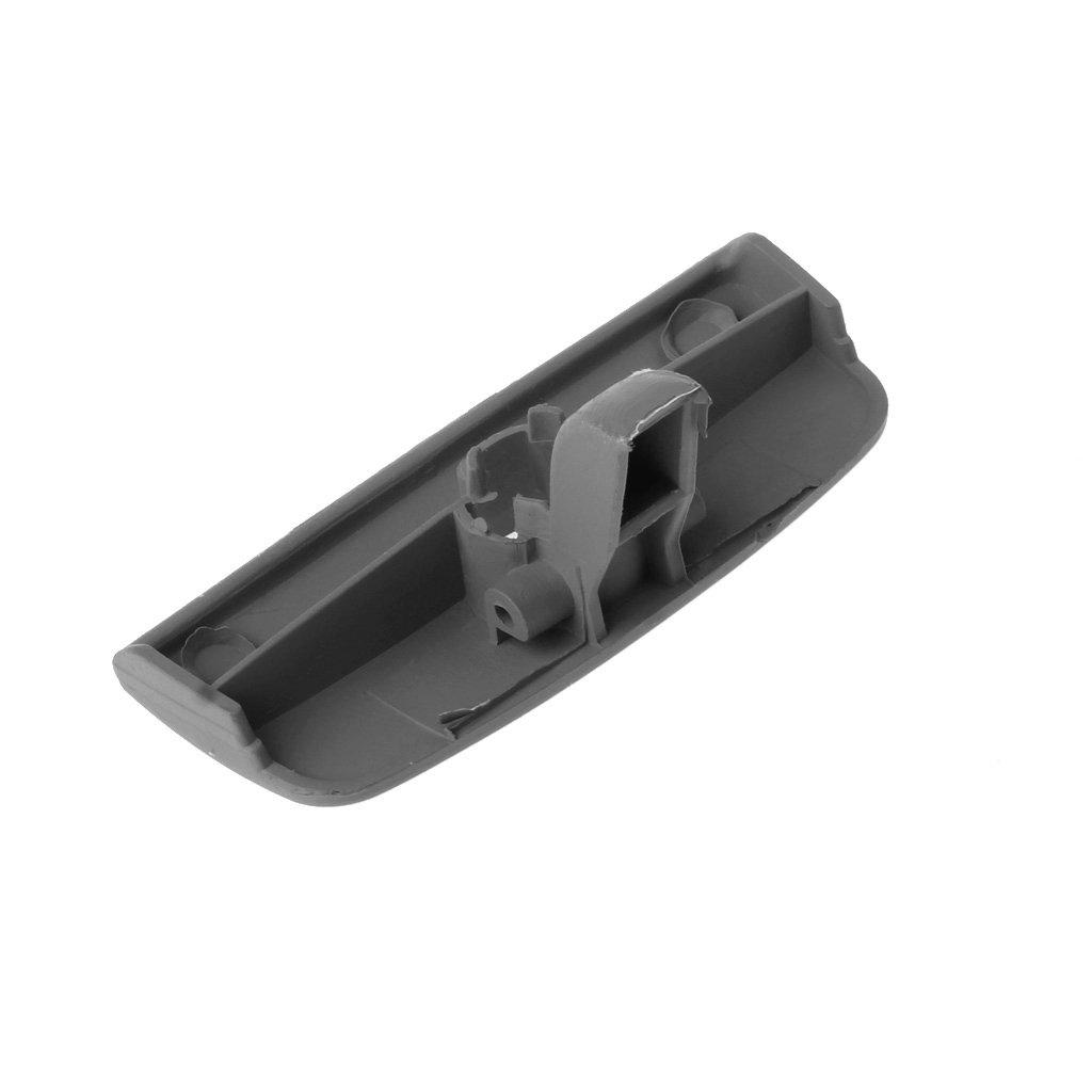 Grey Bottone Black Armrest Glove Box Cover Handle Lock Hole for VW Passat B5 1997-2005