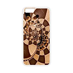 Chess Manipulation Psychedelic Trippy Chess Board iPhone 6 4.7 Inch Cell Phone Case White Cover protective Skin Shield PJZ003-2309644