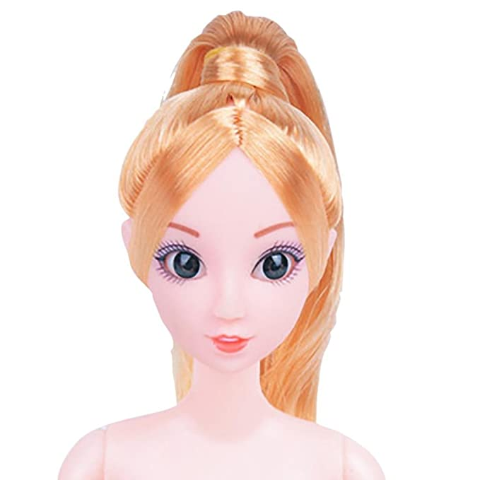 Amazon.com: LtrottedJ Nude Doll With Head 12 Joint Moving Naked Bodies DIY Toys Accessories Gift Girl (D): Cell Phones & Accessories