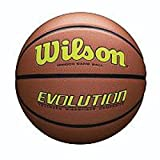 Wilson Evolution Official Size Game Basketball - Yellow