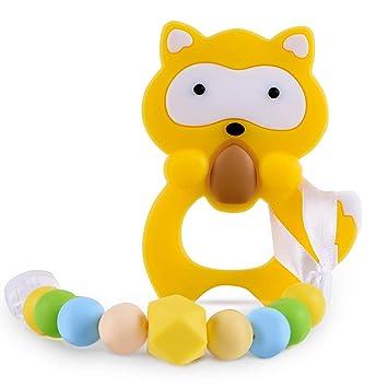 Amazon.com: Juguetes para dentición de bebé, sin BPA, de ...