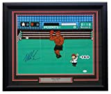 Mike Tyson Signed Framed Boxing Punch Out 16x20 Photo JSA ITP