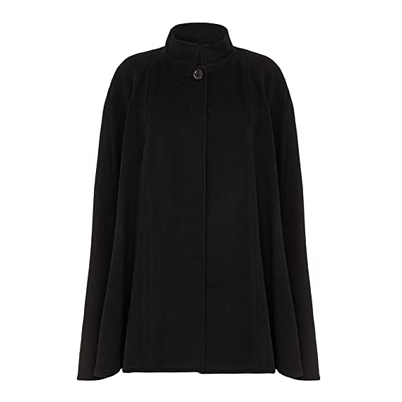 Vintage Coats & Jackets | Retro Coats and Jackets Wool & Cashmere Cape $245.00 AT vintagedancer.com