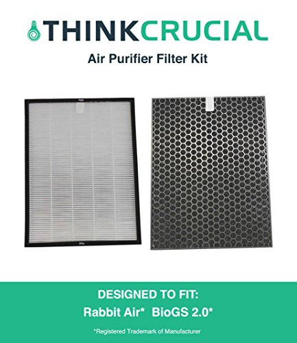 Crucial Air Carbon and Air Filter Kit for BioGS 2.0 (SPA-550A / SPA-625A)