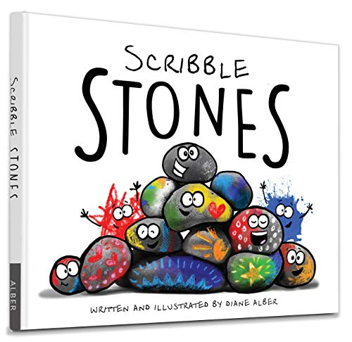 Halloween Kindergarten Writing Ideas (Scribble Stones)