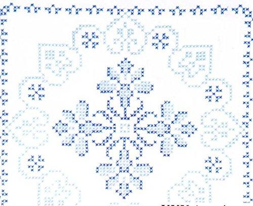 Stamped White Quilt Blocks 18
