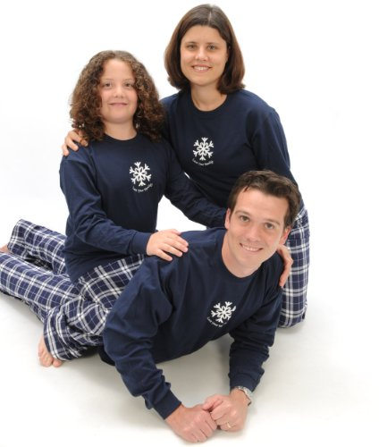 Winter Snowflake Set; Adult XX-Large; NVY Plaid Pants (Snow White Outfit Ideas)