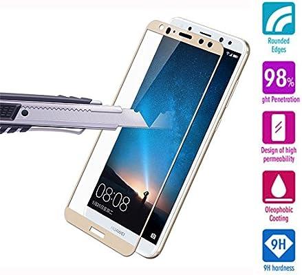 Protector de Pantalla Completa para Huawei Mate 10 lite de Dureza ...