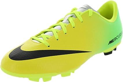 lucha Perjudicial Sinewi  Amazon.com: Nike Mercurial Victory IV FG Junior Soccer Boots: Sports &  Outdoors