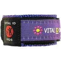 El niño/las Vital pulsera de identificación - medicina/diabéticos