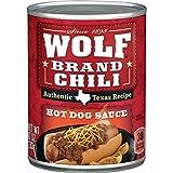 WOLF BRAND Chili Hot Dog Sauce, 10 oz.