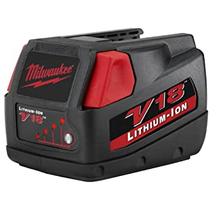 Milwaukee 48-11-1830 V18 18-Volt 3.0 Amp Hour Lithium-Ion Slide Style Battery