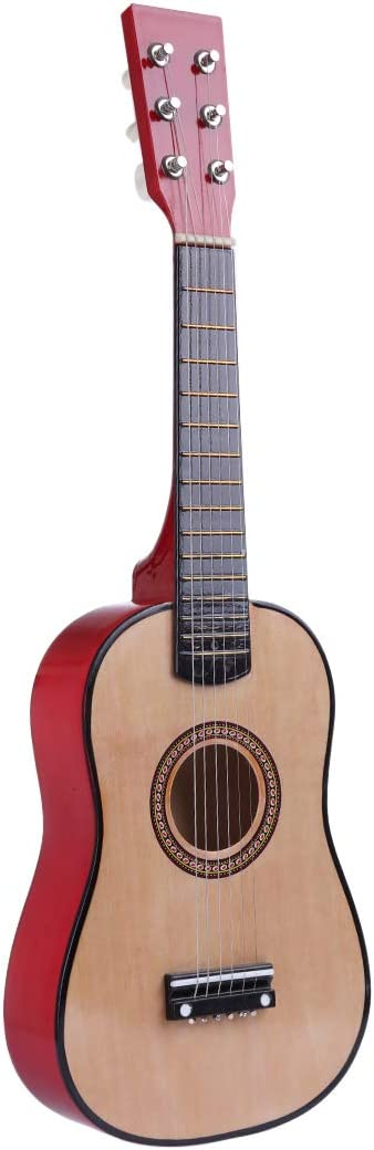 23 Inches Polai 6 Strings Childrens Guitar Musical Instruments for Beginner